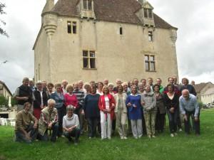 1650 - Groepsfoto bij de Prieuré (2)